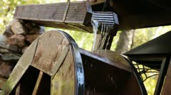 Water mill 6 Stock Footage
