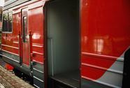 Electrical train. Stock Photos