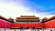 Forbidden City. Beijing. China Stock Footage
