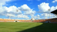 Time lapse ,stadium ,cloud and shadow moving Stock Footage