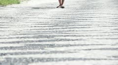 Boardwalk. RJ, Brasil - stock footage