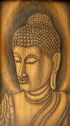 buddha portrait - stock photo