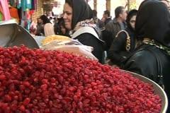 Iran 12 tehran market.mov Stock Footage
