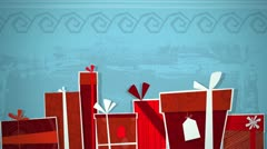Christmas Presents Loop HD - stock footage