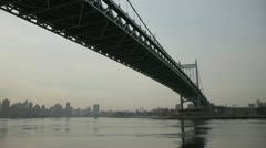 Robert F Kennedy bridge Stock Footage
