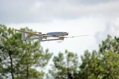 Uav drone plane flying Stock Photos