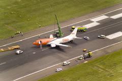 Crash landing Stock Photos