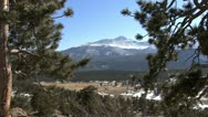 Stock Video Footage of Colorado Rocky Mountain NP view