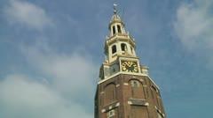Westertoren, Amsterdam Stock Footage