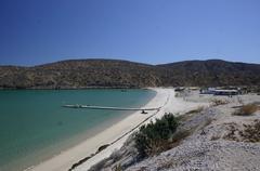 View of Beach, Bay & Land Stock Photos