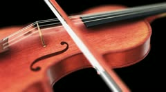 Violin - stock footage