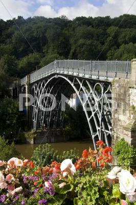 Stock photo of Ironbridge
