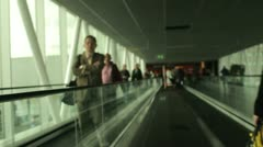 Airport  slide shot Stock Footage