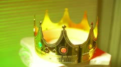 Kings crown Stock Footage