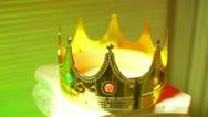 Kings crown Stock Footage