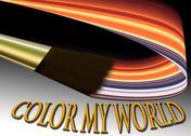 Color my world Stock Illustration