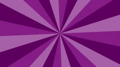 VJ purple rays loop background Stock Footage