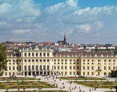 Stock Photo of Schönbrunn - Schoenbrunn - Schonbrunn palace