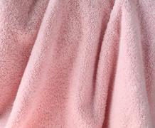 pale pink towel.jpg - stock photo