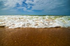 Caribbean Waves Stock Photos