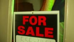 Business for sale building Stock Footage
