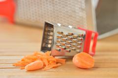 baby carrots - stock photo