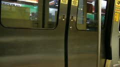 Doors, Entrances, Trains, Mass Transit, Public Transportation Stock Footage