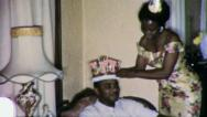 KING OF MY HEART Black Man Couple African American Vintage Film Home Movie 5243A Stock Footage