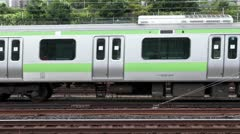 JR Trains At Ueno Station Stock Footage