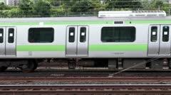 JR Trains At Ueno Station - stock footage