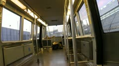 Train, Tram, Subway Cabin, Mass Transit Stock Footage