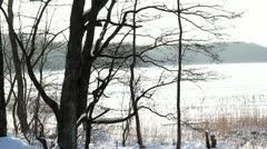 Frozen Lake 5 Stock Footage