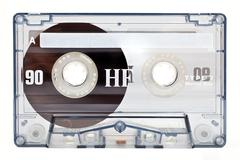 Audio Tape - stock photo