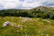 Mountain plateau, crimea, ukraine Stock Photos