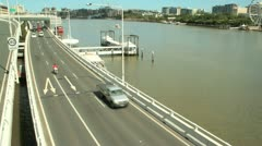 Freeway And Ferries Stock Footage