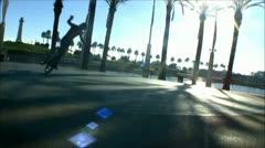 Flatland BMX bike tricks - 1 Stock Footage