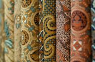 Colourful batik Stock Photos