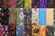 Colourful batik Stock Photos