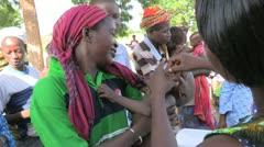 Burkina Faso: At the Health Clinic - stock footage