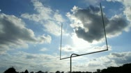 Stock Video Footage of Football Goal Time lapse
