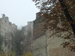Stock Photo of the yard in Kiev