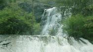 Stock Video Footage of waterfall at Maroondah Dam, Australia