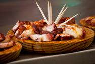 Stock Photo of spanish octopus food