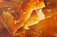 Texture of brown amber, abstract Stock Photos
