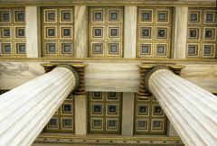 Academy of Athens detail - stock photo