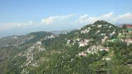City in the Himalayas Stock Footage