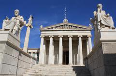 Academy of Arts in Athens, Greece - stock photo