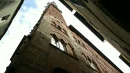 Lucca old tower Stock Footage