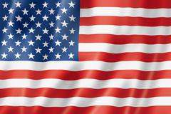 United states flag Stock Illustration