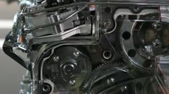 Engine gears Stock Footage